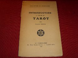 Oswald Wirth - Introduction à l'étude du tarot - édition originale