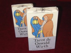 Oswald wirth - Tarot 1889 - éditions format normal et grand